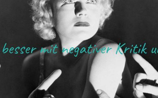 Wie du besser mit Kritik umgehst